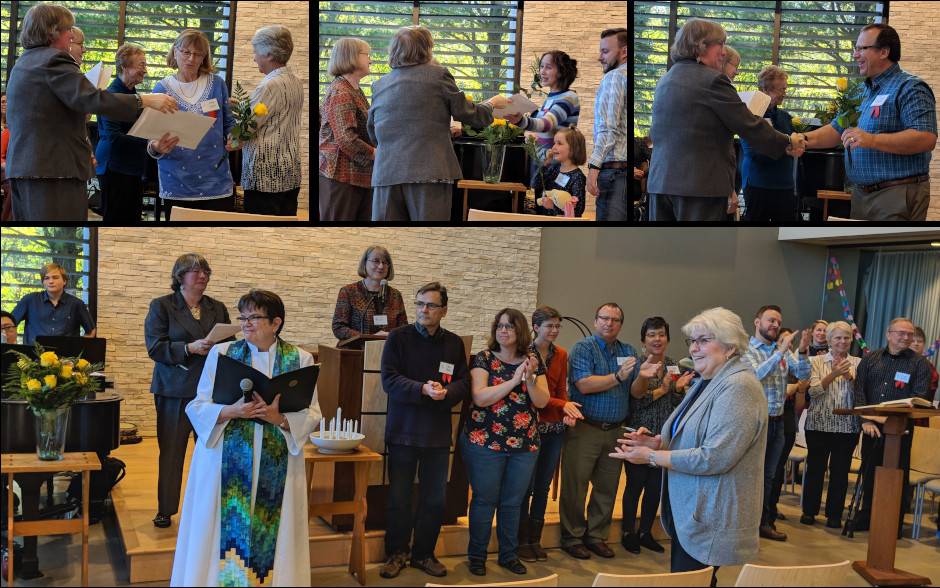 11 new members were welcomed during a recognition ceremony in October
