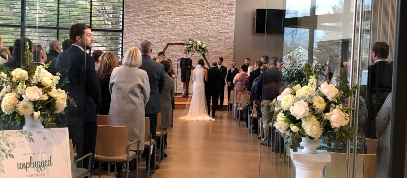 Wedding at Unitarian Universalist Society