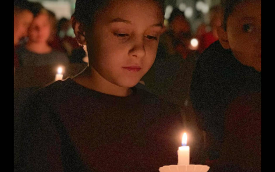Candlelight Service at Unitarian Universalist Society