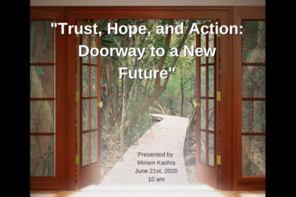 Trust, Hope & Action Promo